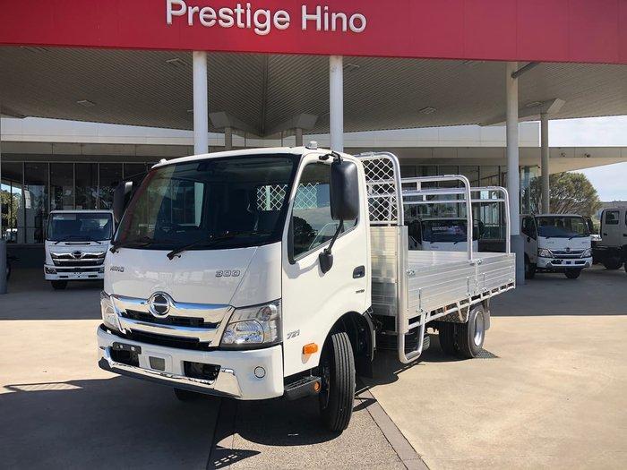 2021 HINO 300 SERIES White