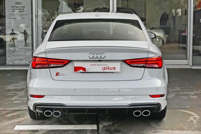2018 Audi S3 Limited Edition 8V MY18 Four Wheel Drive White