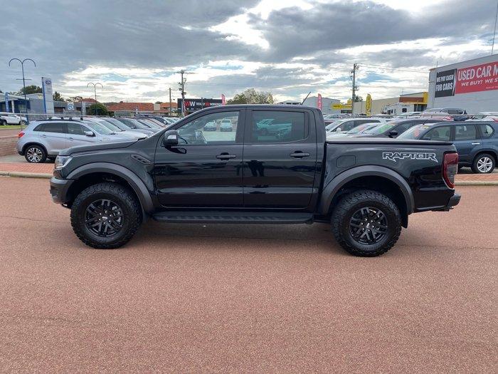 2020 Ford Ranger Raptor PX MkIII MY20.25 4X4 Dual Range Shadow Black