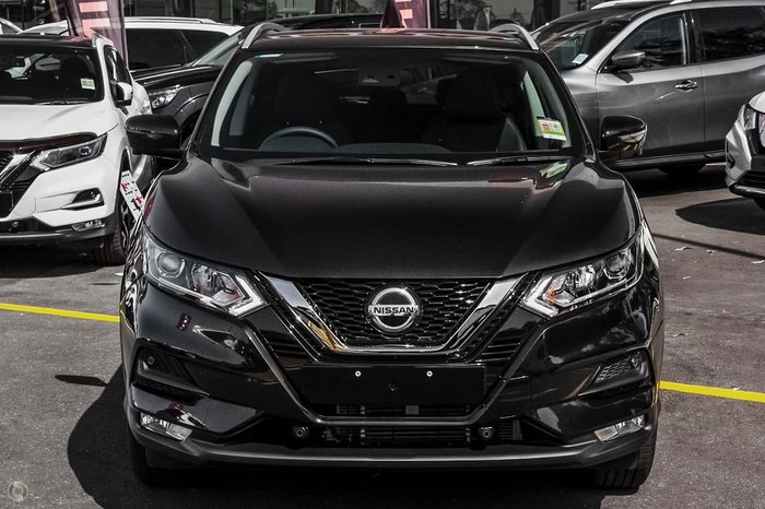 2021 Nissan QASHQAI ST-L J11 Series 3 MY20 Pearl Black