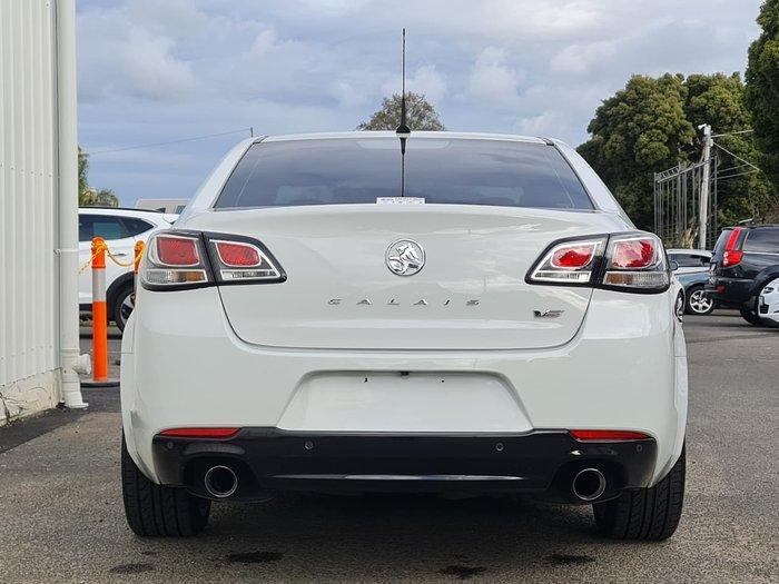 2016 Holden Calais V VF Series II MY16 White