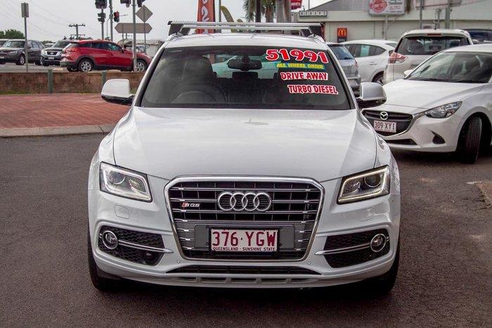2016 Audi SQ5 TDI 8R MY16 Four Wheel Drive White