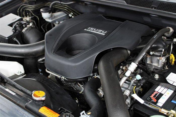 2013 Isuzu D-MAX LS-U MY12 4X4 Dual Range Cosmic Black