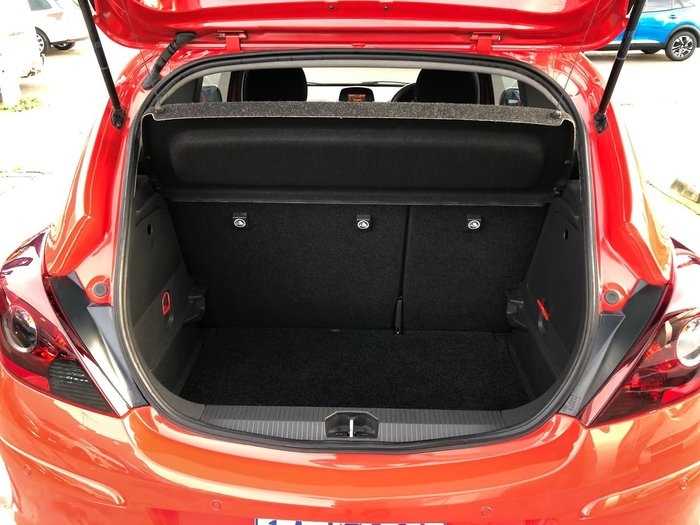 2012 Opel Corsa Colour Edition CO Red