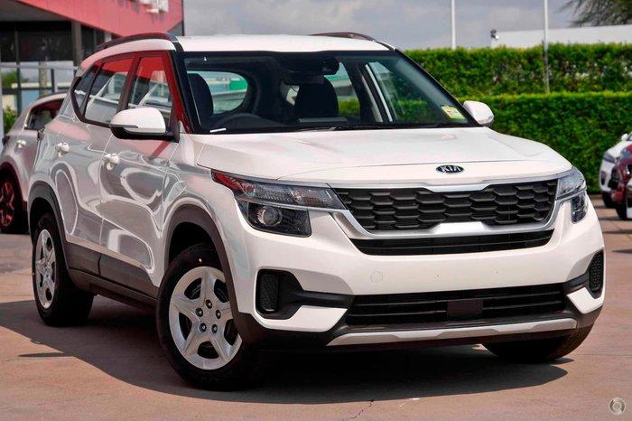 2021 Kia Seltos S SP2 MY21 Snow White Pearl