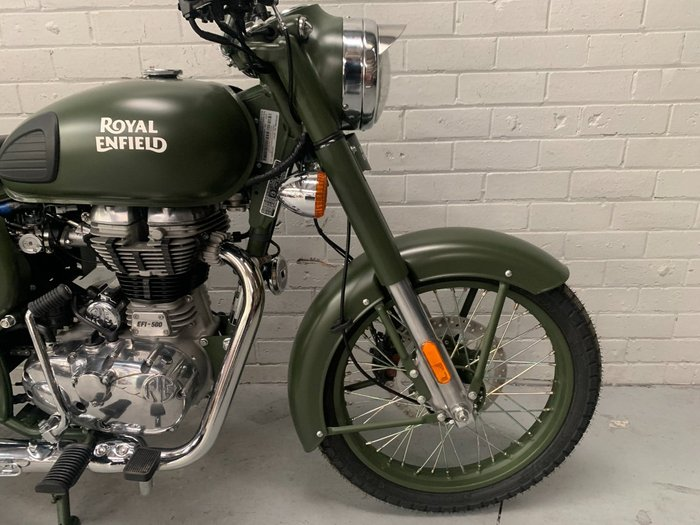 2021 Royal Enfield CLASSIC 500 ABS Green