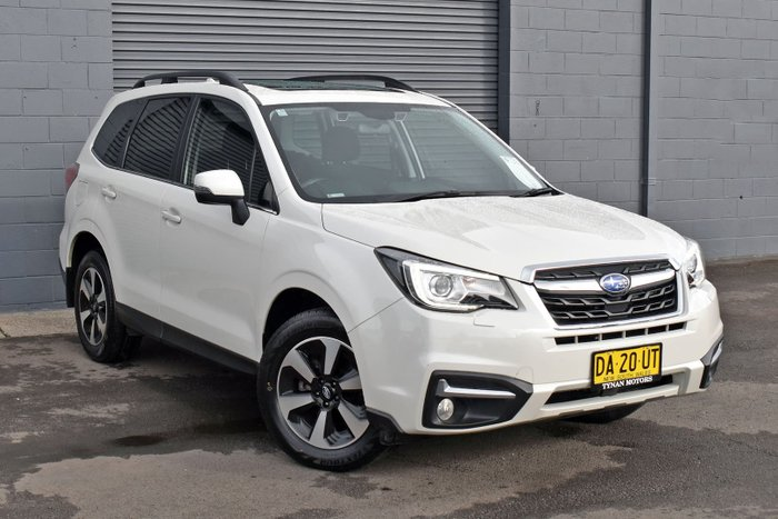 2016 Subaru Forester 2.5i-L S4 MY17 AWD Crystal White