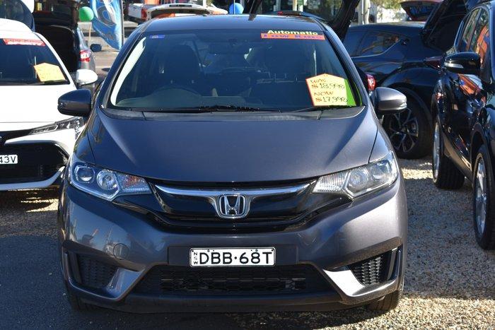 2015 Honda Jazz VTi GF MY15 Modern Steel