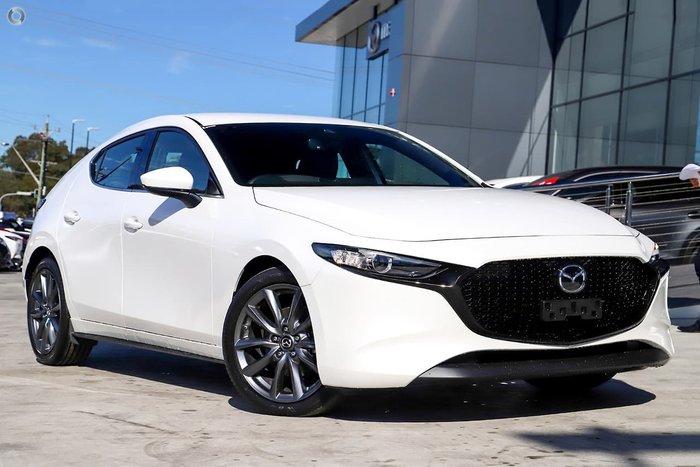 2021 Mazda 3 G20 Touring BP Series White