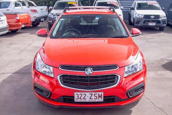2015 Holden Cruze Equipe JH Series II MY15 Red