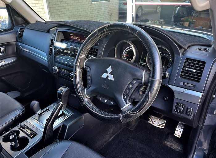 2010 Mitsubishi Pajero VR-X NT MY10 4X4 Gunmetal