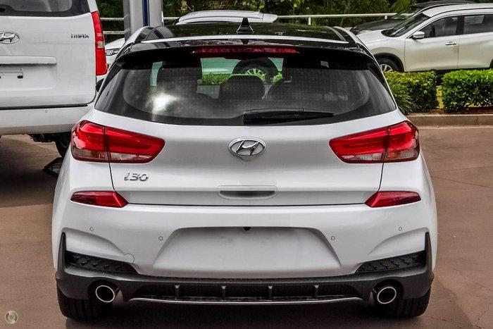 2021 Hyundai i30 N Line Premium PD.V4 MY21 Polar White