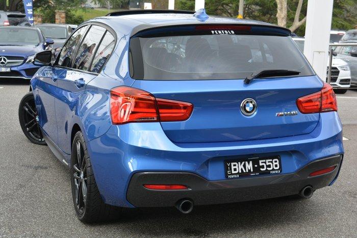 2018 BMW 1 Series M140i F20 LCI-2 Estoril Blue