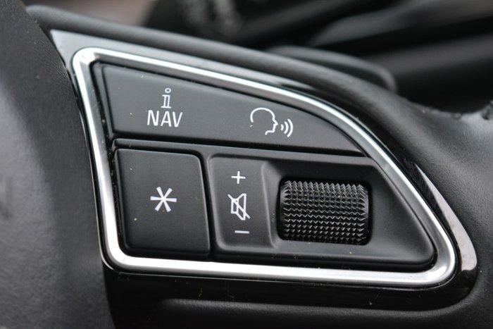 2017 Audi A6 Black Edition C7 MY18 Four Wheel Drive Mythos Black