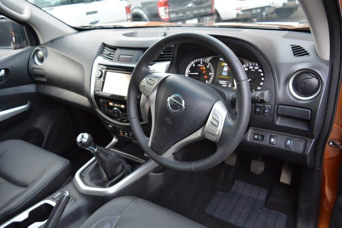 2015 Nissan Navara ST-X D23 4X4 Dual Range Hornet Gold
