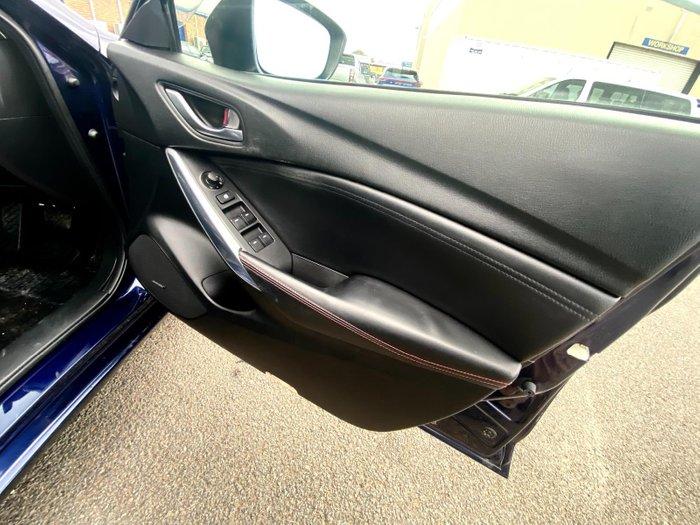 2013 Mazda 6 GT GJ Blue