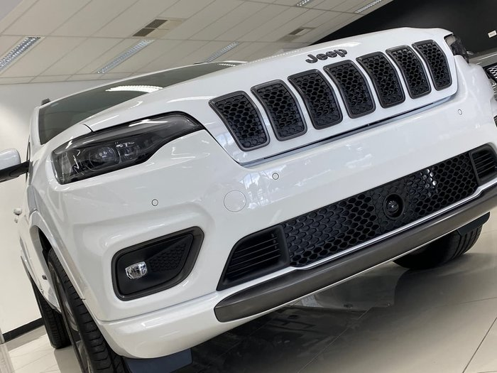 2020 Jeep Cherokee S-Limited KL MY21 4X4 On Demand White