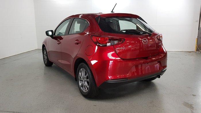 2021 Mazda 2 G15 Pure DJ Series Soul Red Crystal