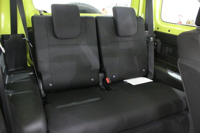 2021 Suzuki Jimny GJ 4X4 Dual Range Kinetic Yellow