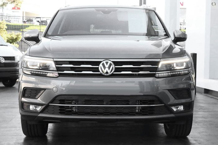 2021 Volkswagen Tiguan 162TSI Highline Allspace 5N MY21 Four Wheel Drive Platinum Grey