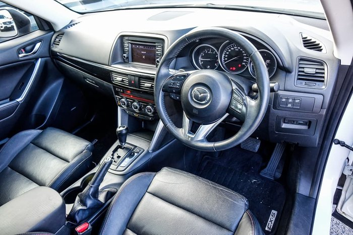 2013 Mazda CX-5 Grand Touring KE Series AWD Crystal White Pearl