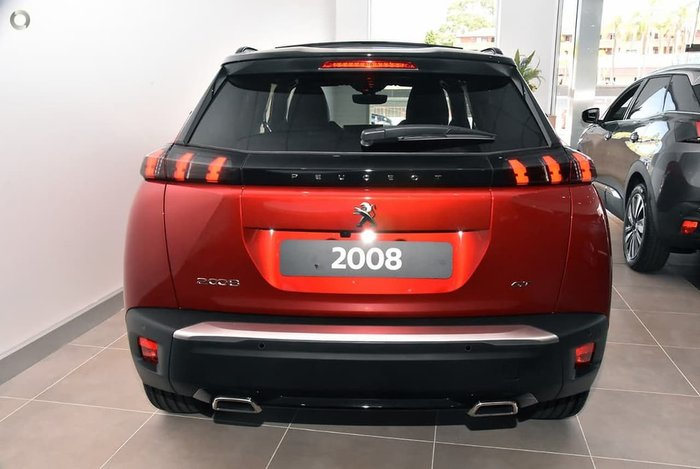2020 Peugeot 2008 GT Sport P24 MY21 Red