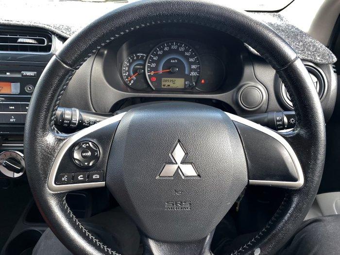 2014 Mitsubishi Mirage ES LA MY14 Red Planet