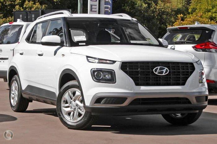 2021 Hyundai Venue QX.V3 MY21 Polar White