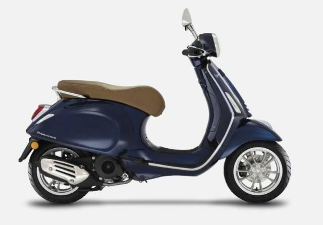 2021 VESPA PRIMAVERA 150 S IGET BLUE