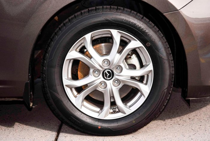 2014 Mazda 3 Neo BM Series Meteor Grey