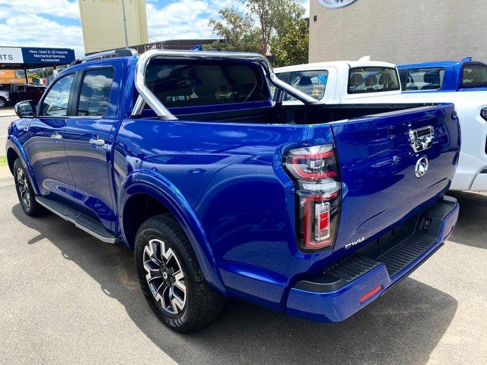 2021 GWM Ute Cannon-L NPW MY20 Blue Sapphire