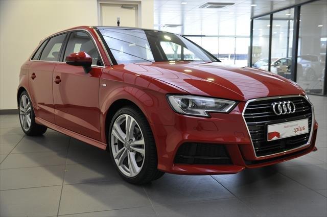 2020 Audi A3 35 TFSI S line plus 8V MY20 Tango Red metallic
