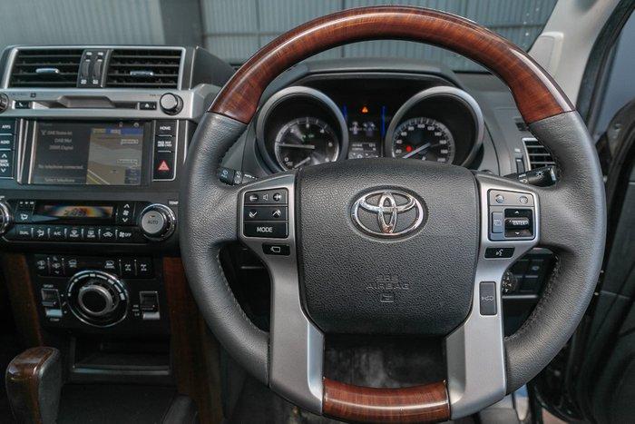 2015 Toyota Landcruiser Prado Kakadu GDJ150R 4X4 Dual Range Black