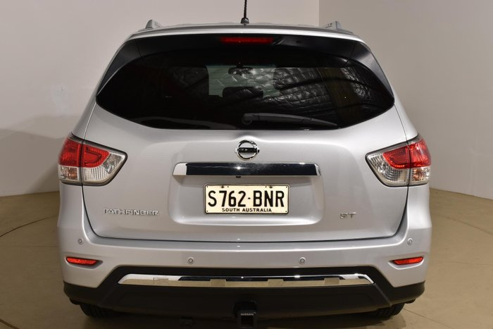 2016 Nissan Pathfinder ST R52 MY16 Brilliant Silver