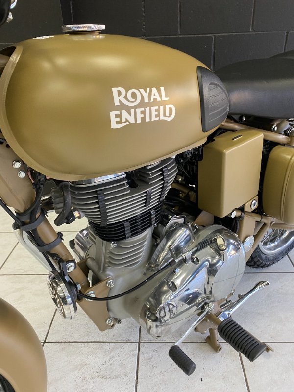 2021 Royal Enfield CLASSIC 500 ABS Grey