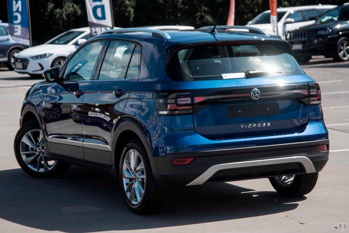 2021 Volkswagen T-Cross 85TSI Style C1 MY21 Reef Blue