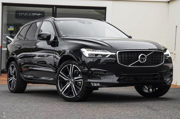 2021 Volvo XC60 T6 R-Design MY21 AWD Black