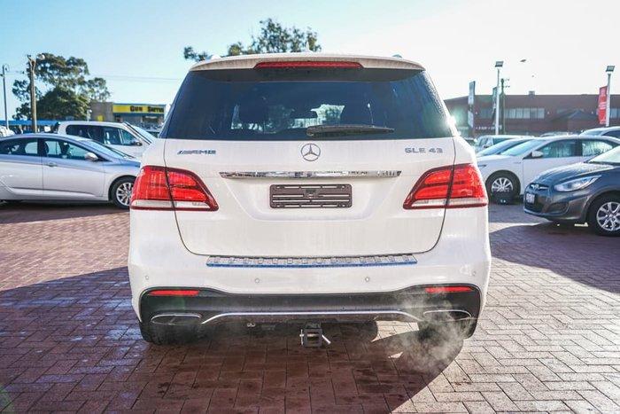 2017 Mercedes-Benz GLE-Class GLE43 AMG W166 Four Wheel Drive White