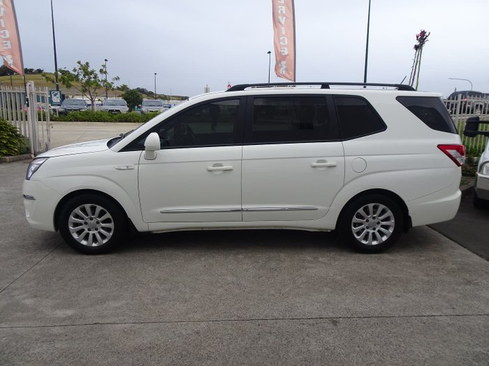2014 SsangYong Stavic SPR A100 MY14 Grand White