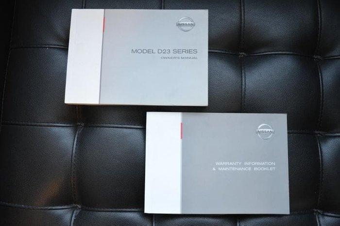 2015 Nissan Navara DX D23 Polar White