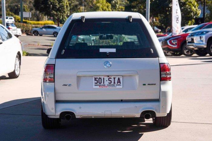2012 Holden Ute SV6 Thunder VE Series II White