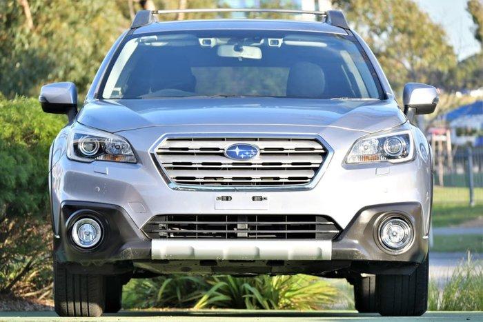 2015 Subaru Outback 3.6R 5GEN MY15 AWD Ice Silver