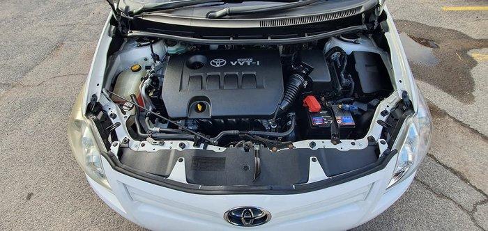 2010 Toyota Corolla Ascent ZRE152R MY10 White