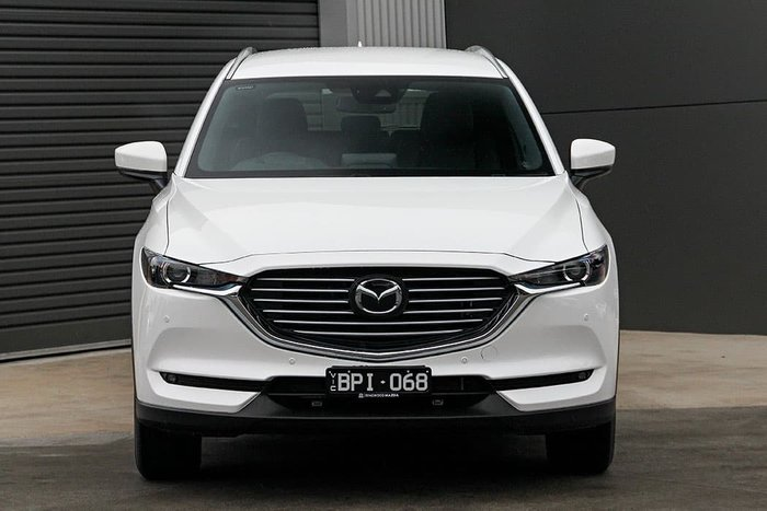 2021 Mazda CX-8 Touring KG Series Snowflake White Pearl