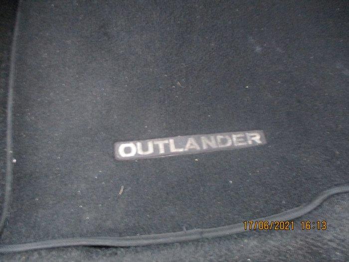 2008 Mitsubishi Outlander XLS ZG MY08 4X4 On Demand Silver
