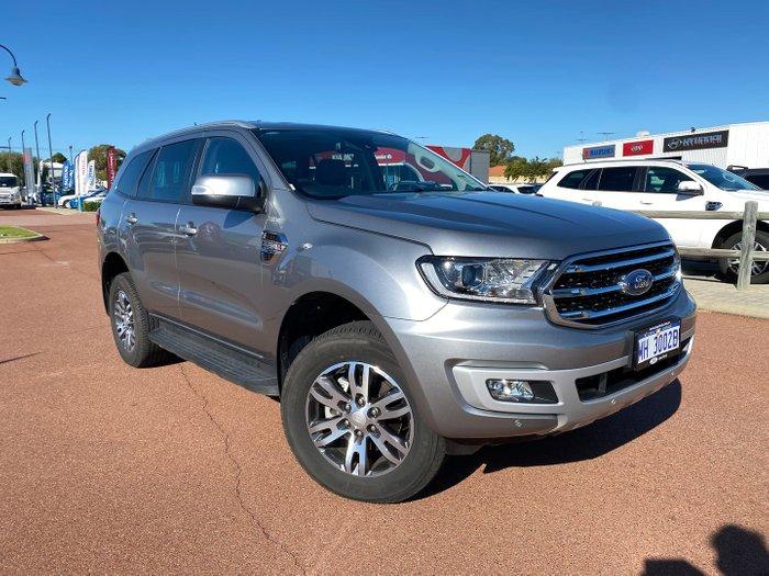 2020 Ford Everest Trend UA II MY20.75 4X4 Dual Range Aluminium