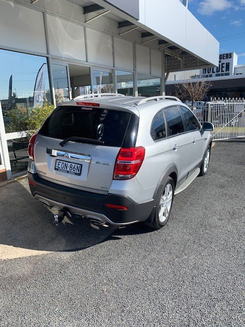 2014 Holden Captiva 7 LTZ CG MY15 AWD Silver