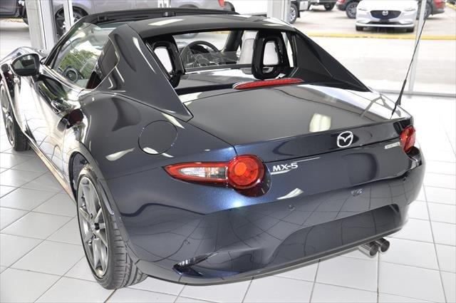 2021 MAZDA MX-5 RF GT MX-5 V 6MAN 2.0L RF GT BLACK ROOF WHITE LEATHER Deep Crystal Blue