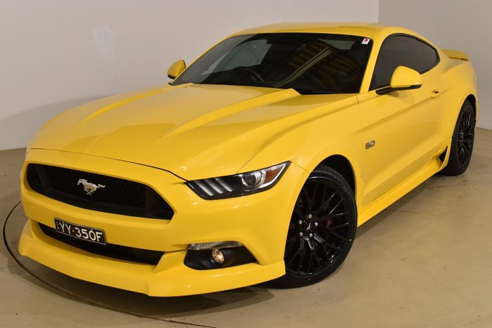 2015 Ford Mustang GT FM Triple Yellow
