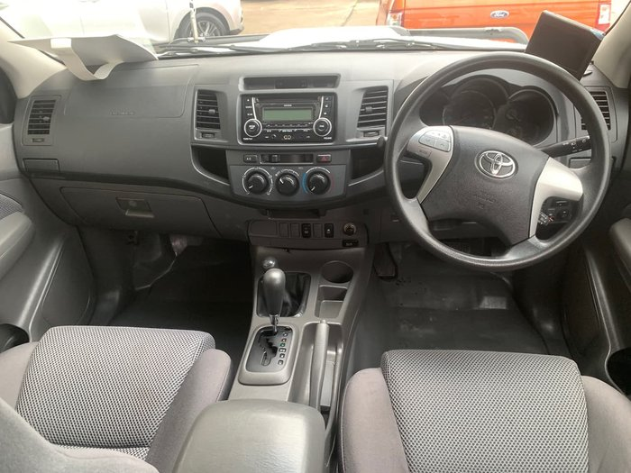 2015 Toyota Hilux SR KUN26R MY14 4X4 Dual Range Blue